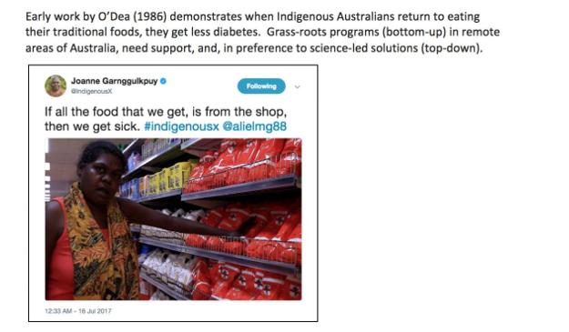 תזונת ילידים באוסטרליה